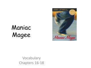 Vocabulary  Chapters 16-18