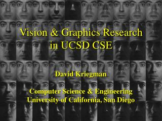 Vision & Graphics Research in UCSD CSE