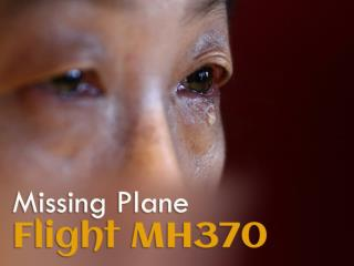 Mourning the missing of Flight MH370