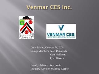 Venmar  CES Inc.