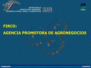 FIRCO:  AGENCIA PROMOTORA DE AGRONEGOCIOS