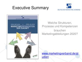 Welche Strukturen, Prozesse und Kompetenzen brauchen Marketingabteilungen 2020?