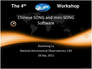 Chinese SONG and mini-SONG Software