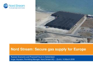 Nord Stream: Secure gas supply for Europe
