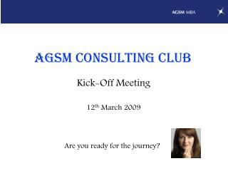 AGSM Consulting Club