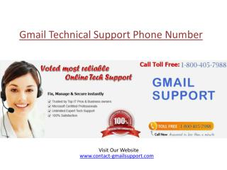 Gmail Technical Support 1-800-405-7988 Phone Number