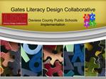 Gates Literacy Design Collaborative