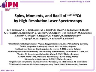 Spins,  Moments , and  Radii of  100-130 Cd by High-Resolution Laser Spectroscopy