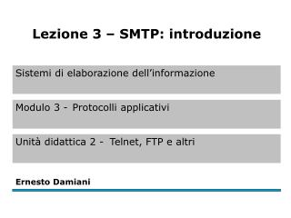 SMTP (Simple Mail Transfer Protocol)  (1)