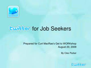 for Job Seekers