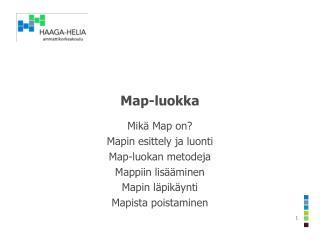 Map -luokka