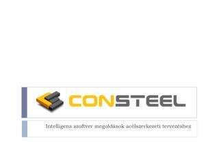 Intelligens szoftver megoldások acélszerkezeti tervezéshez