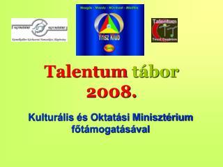 Talentum  tábor 2008.