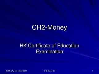 CH2-Money