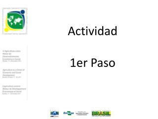 Actividad 1er Paso