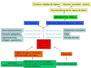 Foco inicial Asintomático Catarro, Otitis,  Sarampión