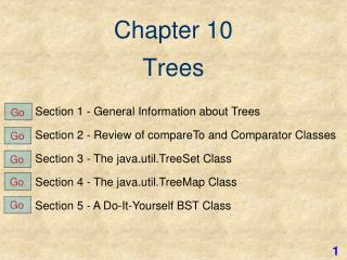 Chapter 10 Trees