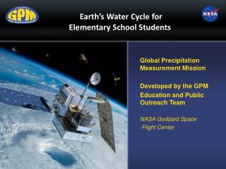 Earth ' s Water Cycle for  Elementary School Students