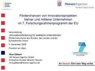 """Veranstaltung: """"Innovationsförderung für etablierte Unternehmen:"""