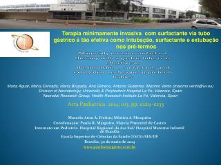 Acta Pædiatrica. 2014; 103, pp. e229–e233