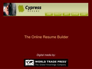 The Online Resume Builder
