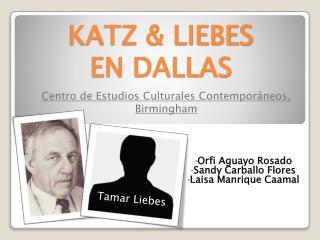 KATZ & LIEBES  EN DALLAS
