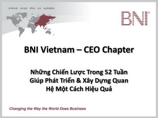 BNI Vietnam – CEO Chapter