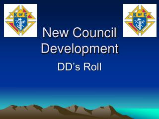 New Council Development