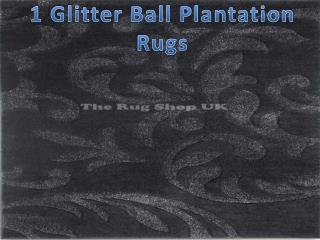 Glitter Ball Rugs Ranges By Hadfields