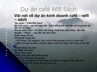 D? �n caf� Wifi S�ch