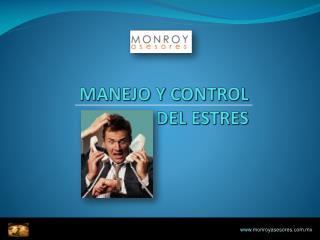 MANEJO Y CONTROL  DEL ESTRES