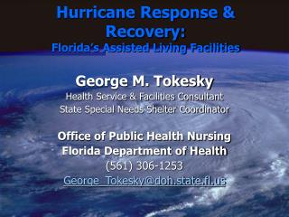 Hurricane Response & Recovery: Florida's Assisted Living Facilities
