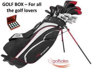 GOLF BOX � For all the golf lovers