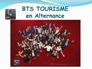 BTS TOURISME  en Alternance