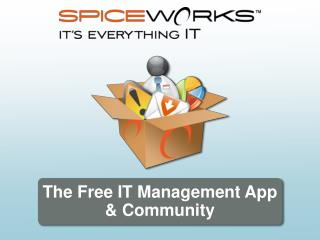 The Free IT Management App  Community