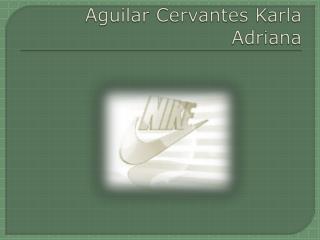 Aguilar Cervantes Karla Adriana