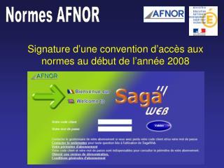 Normes AFNOR