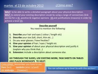 martes  el 23 de  octubre  2012