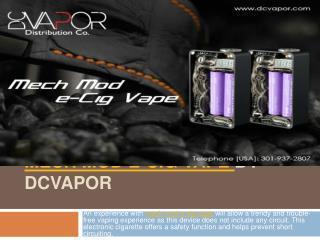Mech Mod E-Cig Vape  By Dcvapor