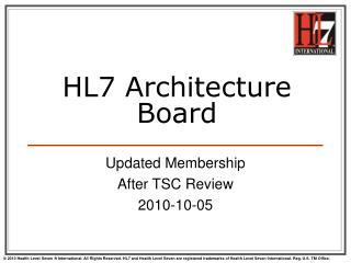 HL7 Architecture Board