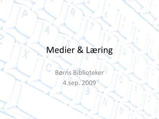 Medier & Læring