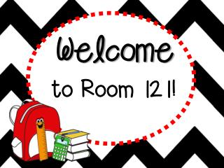 Welcome to Room 121!