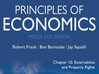 Chapter 10: Externalities and Property Rights