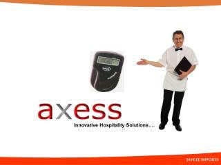 Innovative Hospitality Solutions….
