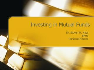 Investing in Mutual Funds