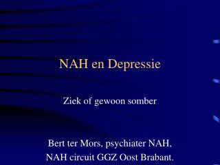 NAH en Depressie