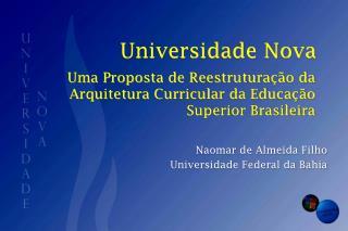 Universidade Nova