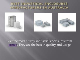 Erntec -Electronics Enclosures Manufacturers