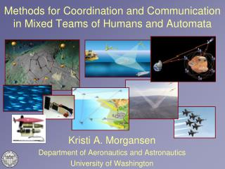 Methods for Coordination and Communication in Mixed Teams of Humans and Automata
