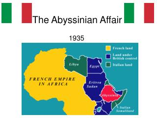 The Abyssinian Affair